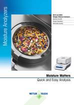 HE73 and HE53 Halogen Moisture Analyzers