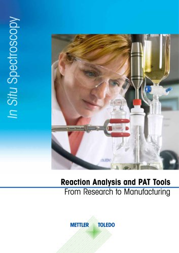 Reaction Analysis and PAT tools
