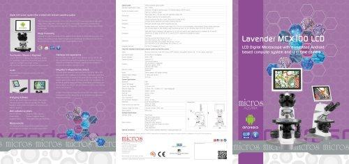 Lavender MCX100 LCD