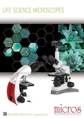 LIFE SCIENCES MICROSCOPES