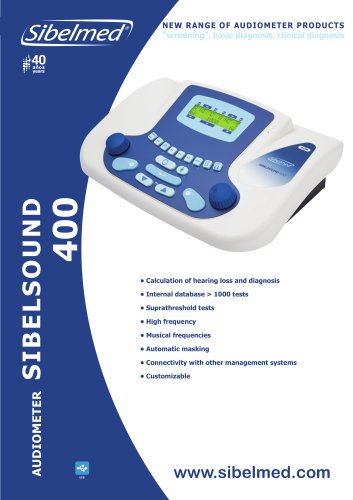 Audiometer Sibelsound 400