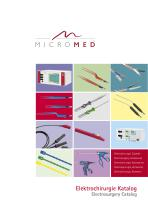 Electrosurgery Catalog