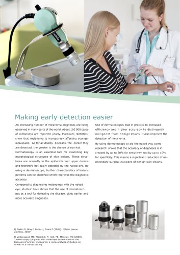 Optilia Video Dermatoscope