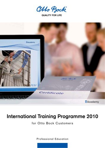 International Training Programme 2010