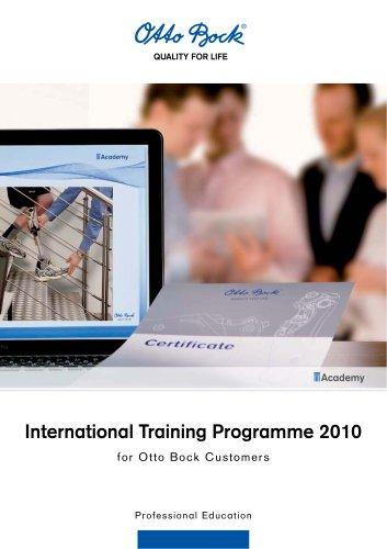 International Training Programme 2010