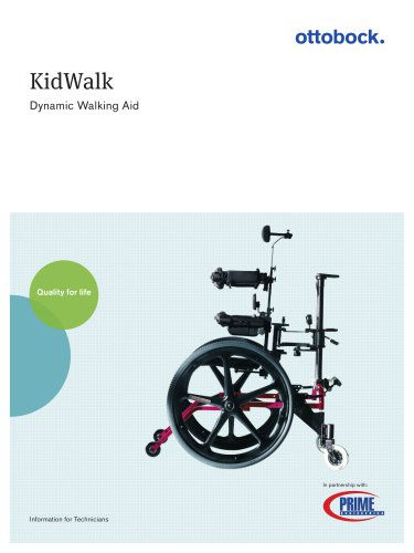 KidWalk ? dynamic walking aid