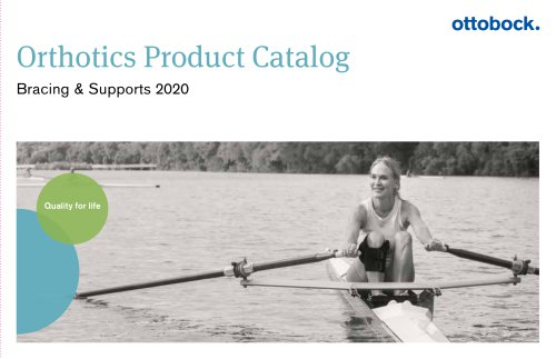 Orthotics Product Catalog