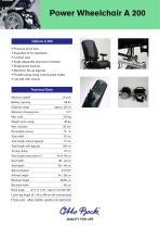 Power Wheelchair A 200 - 2