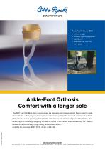 Product information | Ankle-Foot Orthosis 28U9 - 1