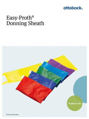 Product Information | Easy-Proth donning sheath