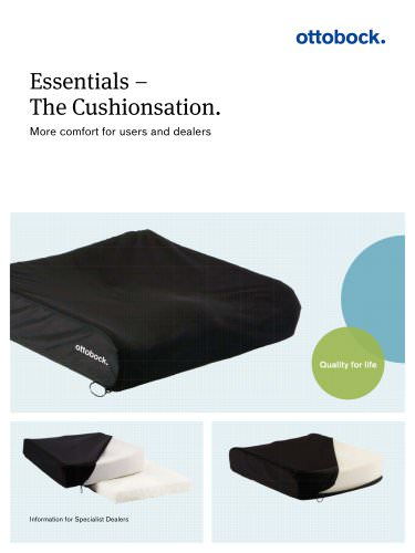 Product information | Essentials ? The Cushionsation.