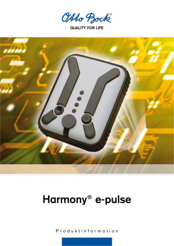 Product information | Harmony® e-pulse