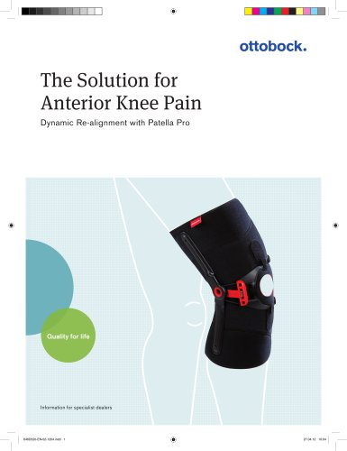 Product information | Patella Pro