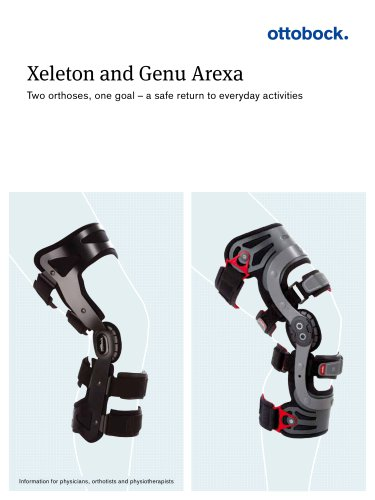 Product information | Xeleton and Genu Arexa