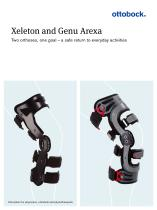 Product information | Xeleton and Genu Arexa - 1