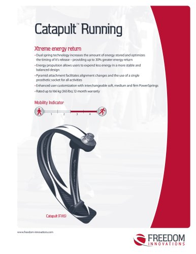 CatapultTM Running