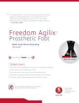 Freedom Agilix™ Prosthetic Foot - 2
