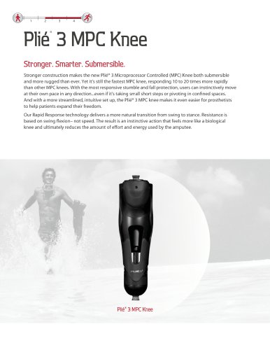 Plié® 3 MPC Knee