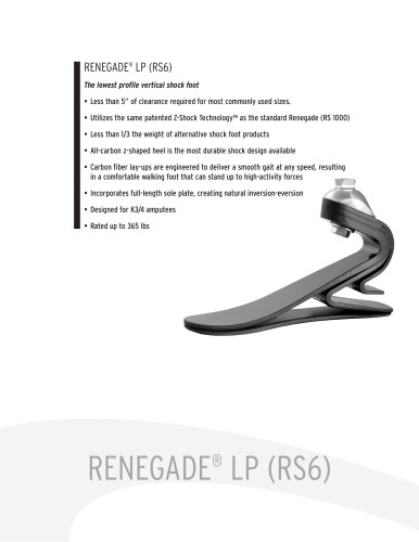 RENEGADE® LP (RS6)