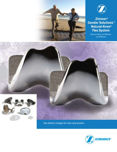 Gender Solutions® Natural-Knee® Flex