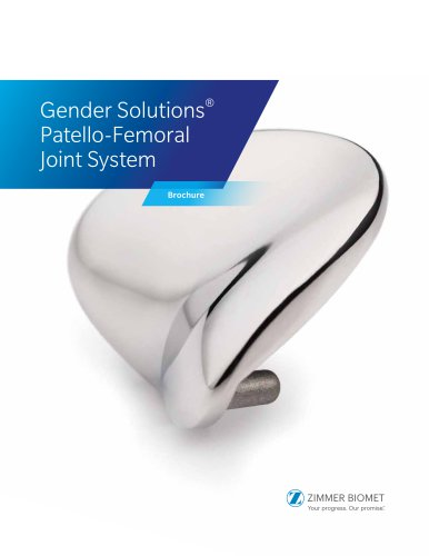 Gender Solutions® Patello-Femoral Joint System