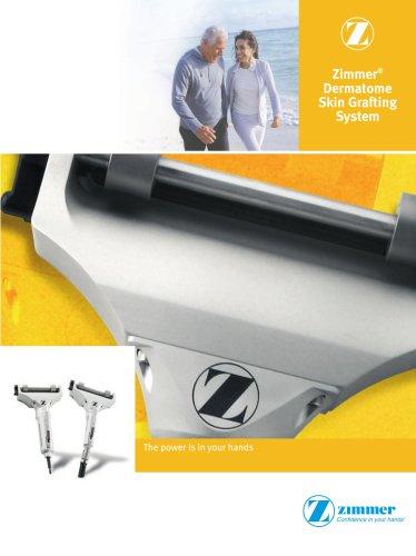 Zimmer Dermatome Skin Grafting System Brochure