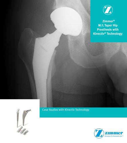 Zimmer® M/L Taper with Kinectiv® Technology