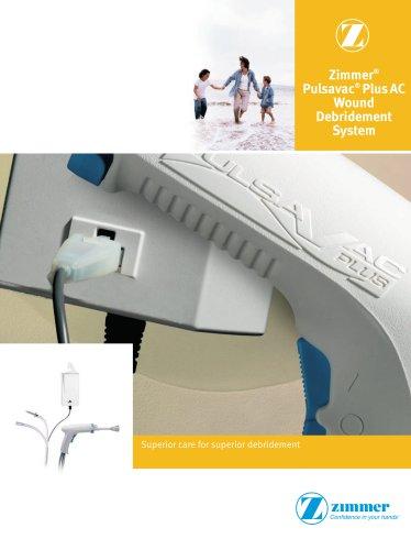 Zimmer® Pulsavac® PlusAC Wound Debridement System