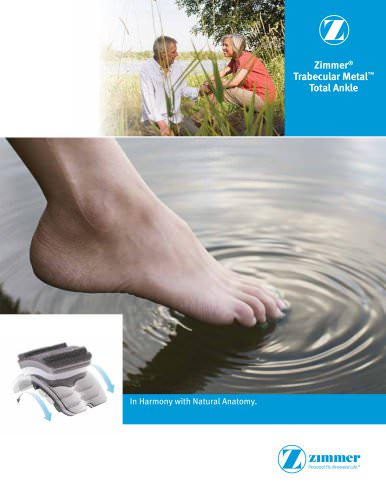 Zimmer Trabecular Metal Total Ankle