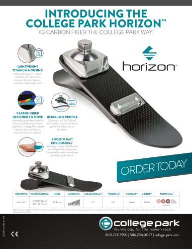 INTRODUCING THE COLLEGE PARK HORIZON™