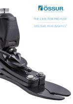 THE CASE FOR PRO-FLEX® Less load, more dynamics™