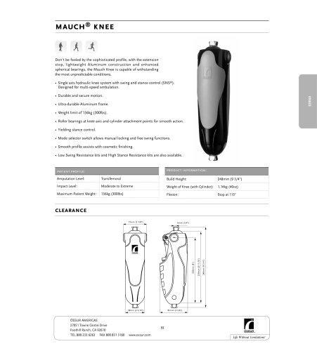 Mauch® Knee