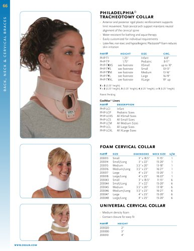 philadelphia® tracheotomy collar
