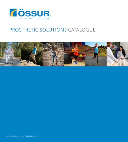 PROSTHETIC SOLUTIONS CATALOGUE 2016 CATALOGUE