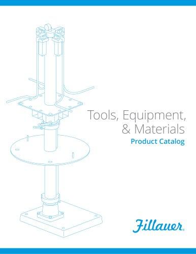 Tools, Equipment, & Materials Product Catalog