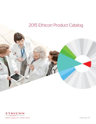 2015  Ethicon Product Catalog