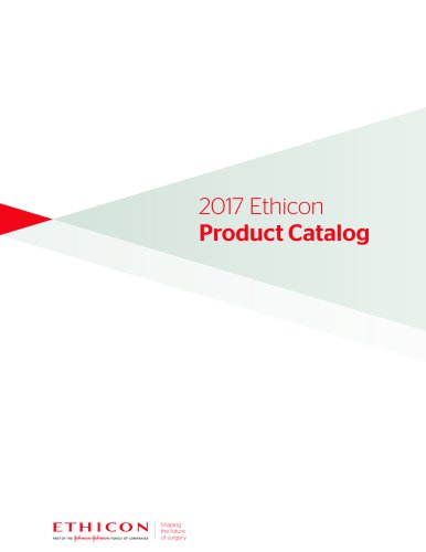 2017 Ethicon Product Catalog