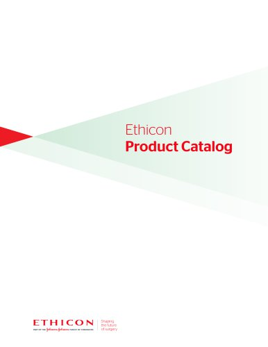 Ethicon Product Catalog