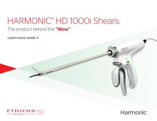 HARMONIC® HD 1000i Shears:
