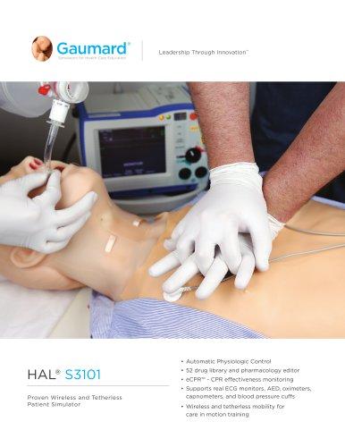 HAL® S3101 Tetherless Patient Simulator