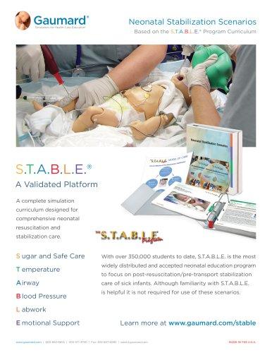 Neonatal Stabilization Scenarios S.T.A.B.L.E.®
