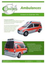 MB Vito Ambulance Brochure - 2