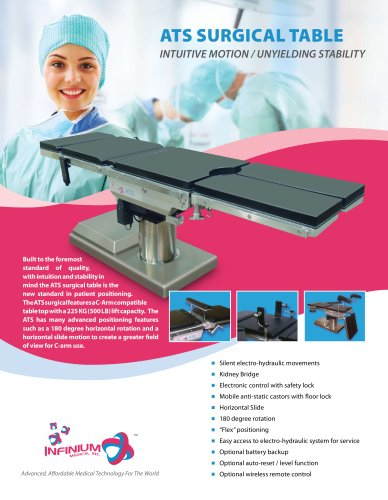 ATS SURGICAL TABLE