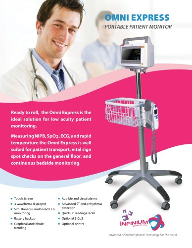 OMNI EXPRESS PORTABLE PATIENT MONITOR