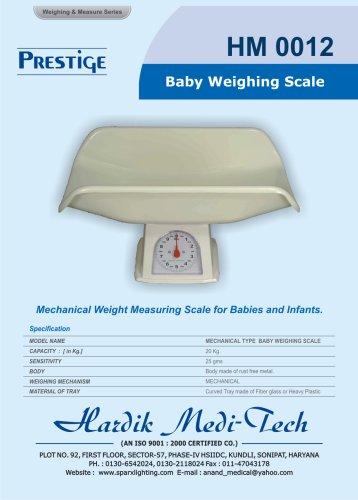 Prestige baby scale