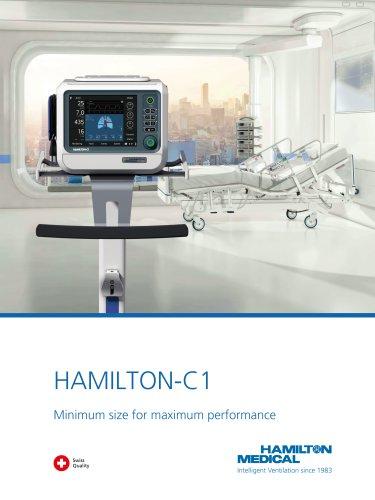 HAMILTON-C1 brochure