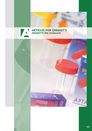 Articles for chemist's
