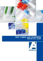 Catalogue 2016 - Test tubes and stoppers