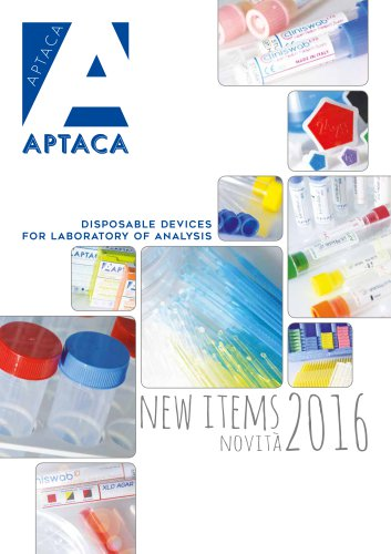 DISPOSABLE DEVICES FOR LABORATORY OF ANALYSIS