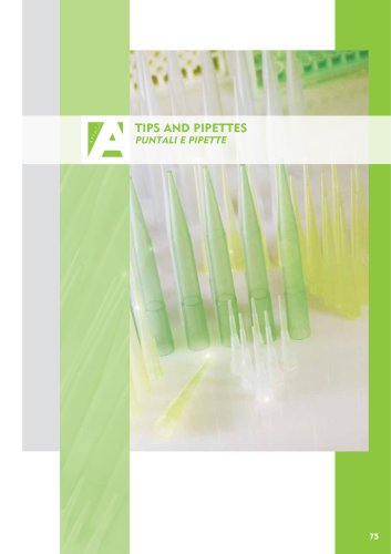 Tips and pipettes
